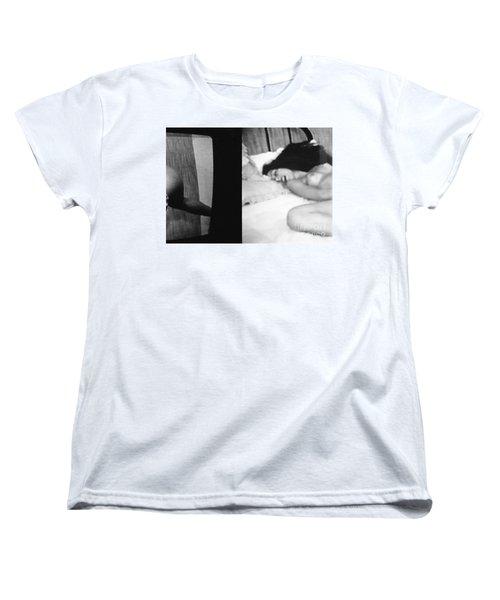 A Mystery Women's T-Shirt (Standard Cut) by Steven Macanka