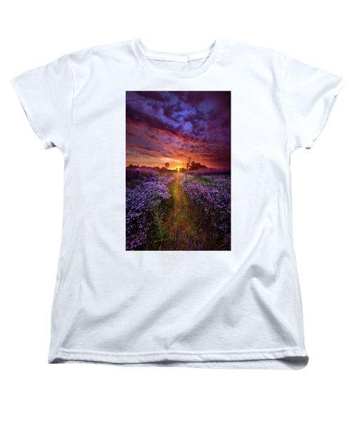A Peaceful Proposition Women's T-Shirt (Standard Cut) by Phil Koch