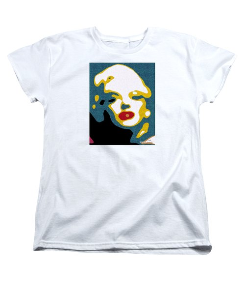 A Sexy Glance Women's T-Shirt (Standard Cut) by Pedro L Gili