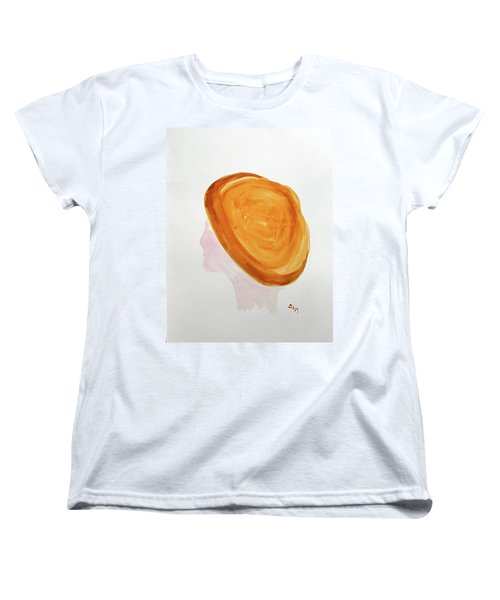 Women's T-Shirt (Standard Cut) featuring the painting A Simple Hat by Sandy McIntire