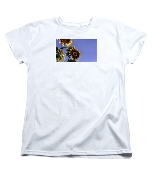 Women's T-Shirt (Standard Cut) featuring the photograph A Summer's Day by Lora Lee Chapman