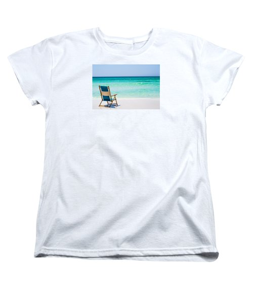 A View Of The Ocean Women's T-Shirt (Standard Cut) by Shelby  Young
