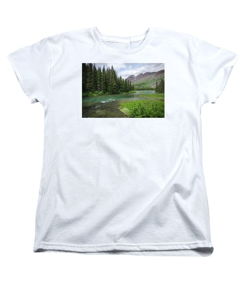 A Walk In The Forest Women's T-Shirt (Standard Cut)