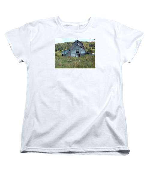 Abandoned Barn Women's T-Shirt (Standard Cut) by Catherine Gagne