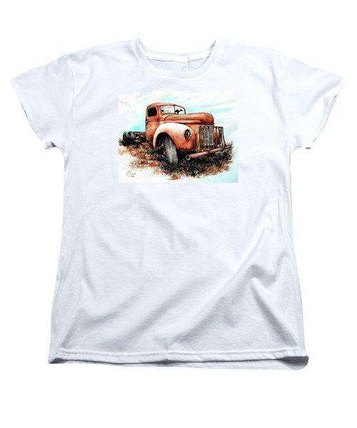 Abandoned Women's T-Shirt (Standard Cut) by Heidi Kriel