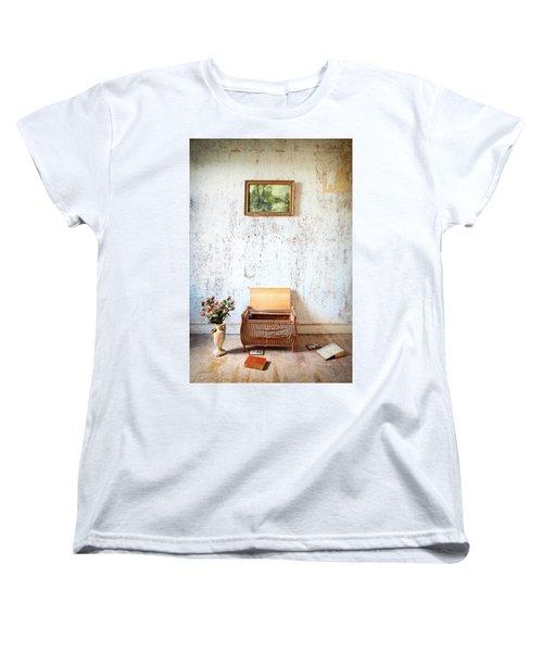 Abandoned Memories -urbex Women's T-Shirt (Standard Cut) by Dirk Ercken