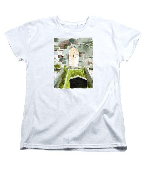 Abbey Door Women's T-Shirt (Standard Cut)