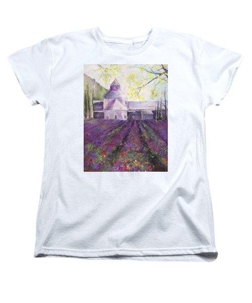 Abbey Senanque    Women's T-Shirt (Standard Cut) by Robin Miller-Bookhout