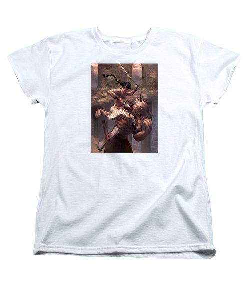 Above The Labyrinth  Women's T-Shirt (Standard Cut)