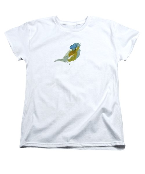 Abstract Bird Singing Women's T-Shirt (Standard Cut) by Stephanie Peters