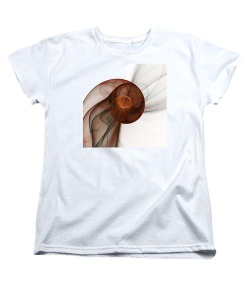 Abstract Fractal Art Women's T-Shirt (Standard Cut) by Gabiw Art