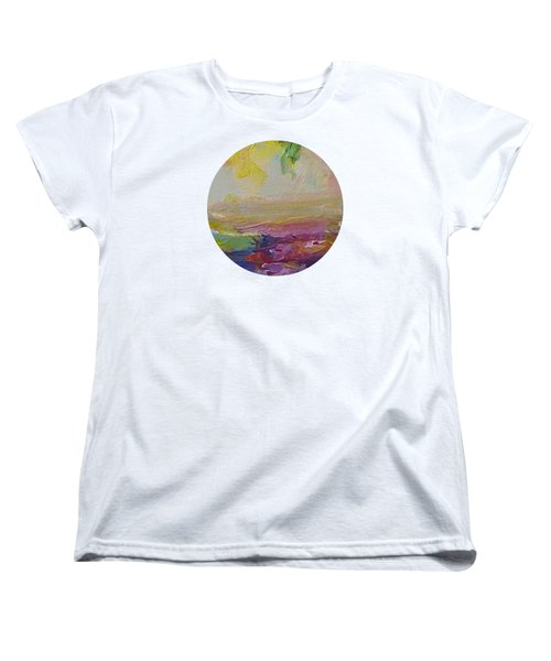 Abstract Impressions- Number 2 Women's T-Shirt (Standard Fit)