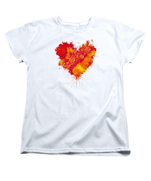 Abstract Intensity Women's T-Shirt (Standard Cut) by Nikki Marie Smith
