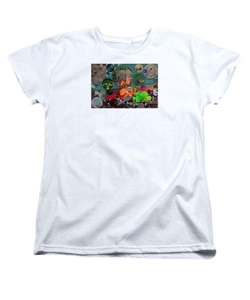 Abstract Painting - Chicago Women's T-Shirt (Standard Cut) by Vitaliy Gladkiy
