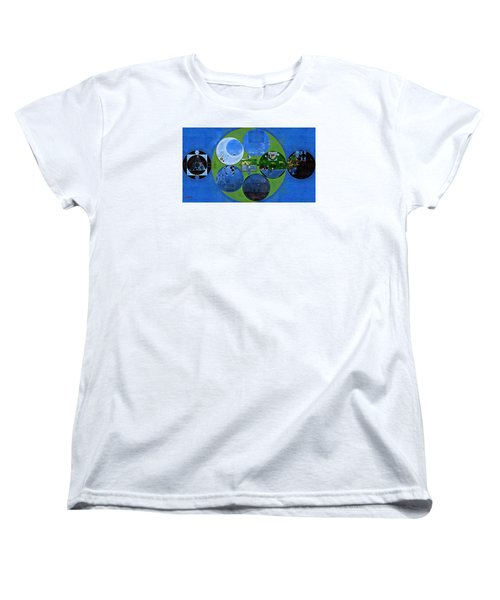 Abstract Painting - Everglade Women's T-Shirt (Standard Cut) by Vitaliy Gladkiy