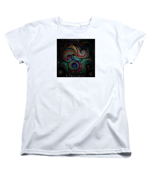 Women's T-Shirt (Standard Cut) featuring the pastel Abstract by Sheila Mcdonald