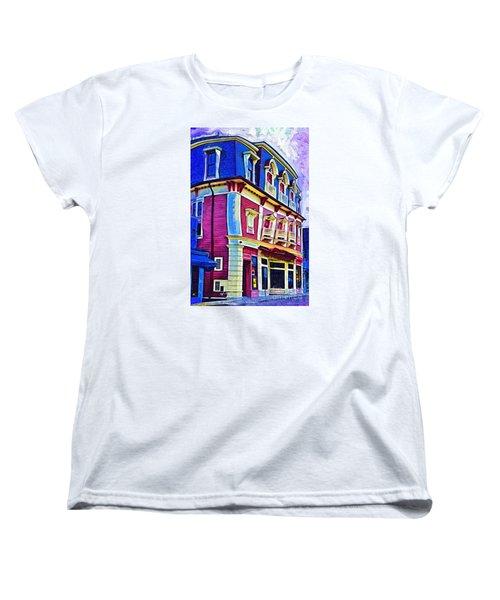 Abstract Urban Women's T-Shirt (Standard Cut) by Kirt Tisdale