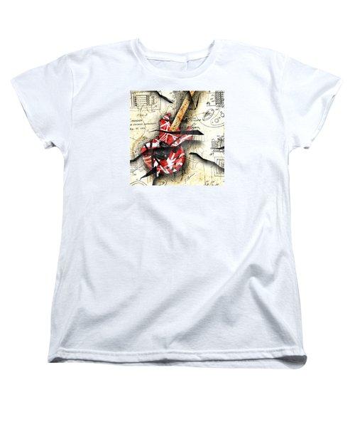 Abstracta 35 Eddie's Guitar Women's T-Shirt (Standard Cut)