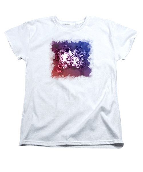Abstraction Of The Ink Kiss  Women's T-Shirt (Standard Cut) by Anton Kalinichev