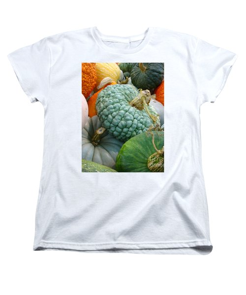 Women's T-Shirt (Standard Cut) featuring the photograph Abundant Harvest by Cathy Dee Janes