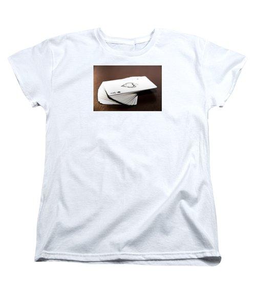 ACE Women's T-Shirt (Standard Cut) by Hyuntae Kim