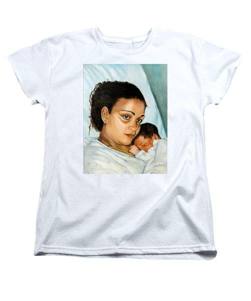 After Birth Jacina And Javon Women's T-Shirt (Standard Cut) by Marlene Book