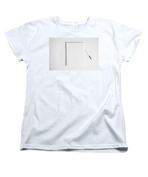 Women's T-Shirt (Standard Cut) featuring the photograph To Be Filled In Anyway You Like It by Yvette Van Teeffelen