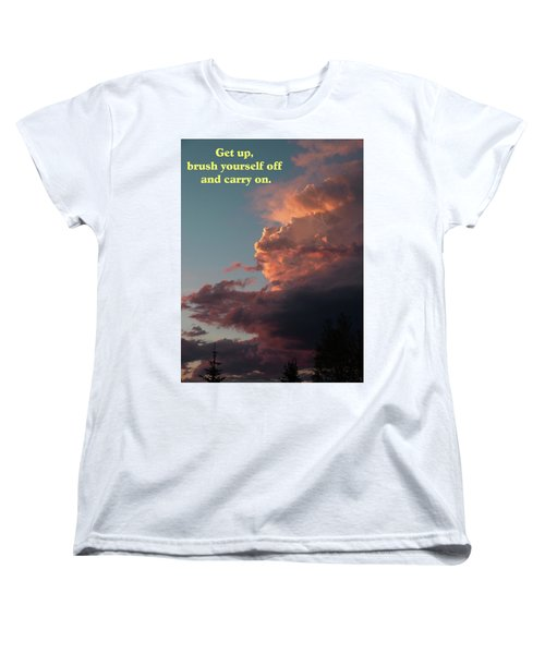 After The Storm Carry On Women's T-Shirt (Standard Cut) by DeeLon Merritt