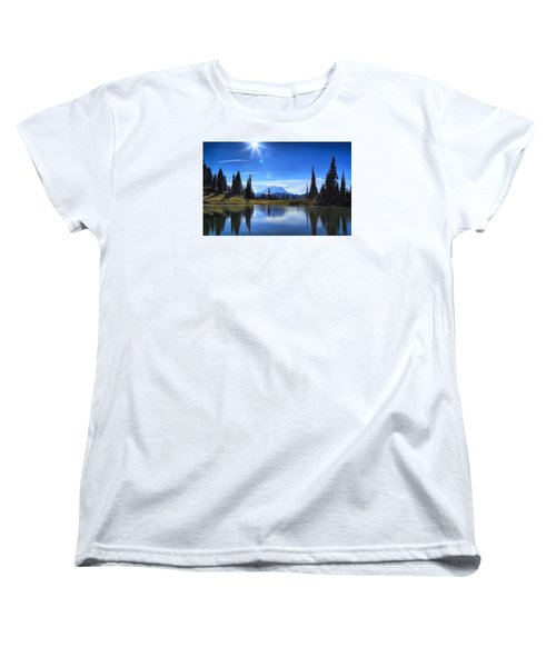 Women's T-Shirt (Standard Cut) featuring the photograph Afternoon Delight 2 by Lynn Hopwood