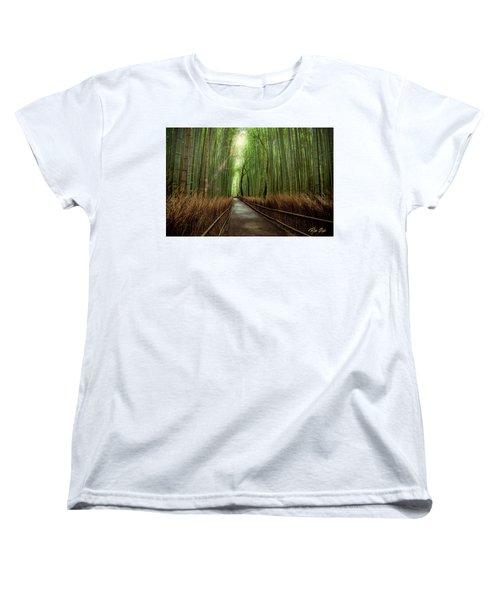 Afternoon In The Bamboo Women's T-Shirt (Standard Cut) by Rikk Flohr