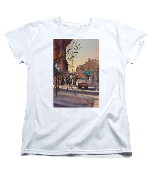 Afternoon Light Women's T-Shirt (Standard Cut) by Ryan Radke