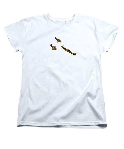 Against The Odds Women's T-Shirt (Standard Cut) by Linsey Williams