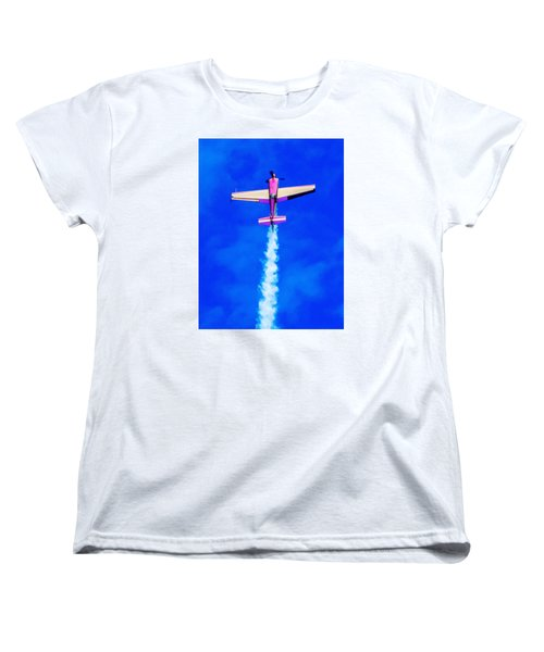 Women's T-Shirt (Standard Cut) featuring the photograph Air Show by Michael Nowotny