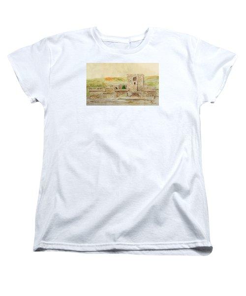 Alcazaba Of Almeria Women's T-Shirt (Standard Cut) by Angeles M Pomata