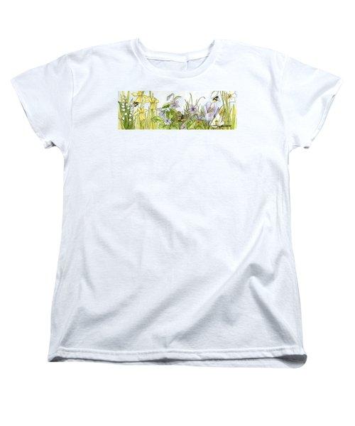 Alive In A Spring Garden Women's T-Shirt (Standard Cut)