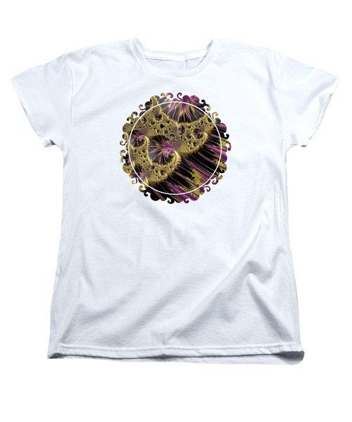 All That Glitters Women's T-Shirt (Standard Cut) by Becky Herrera