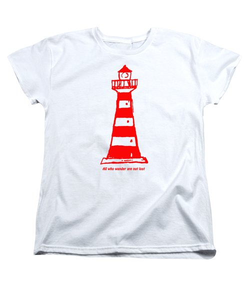 All Who Wander Women's T-Shirt (Standard Cut)