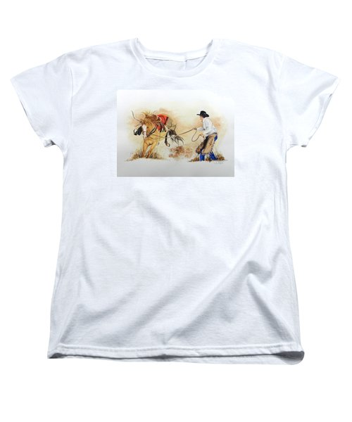 Almost Ready Women's T-Shirt (Standard Cut) by Jimmy Smith