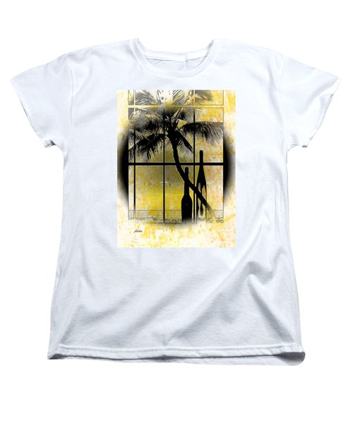 Women's T-Shirt (Standard Cut) featuring the photograph Aloha,from The Island by Athala Carole Bruckner