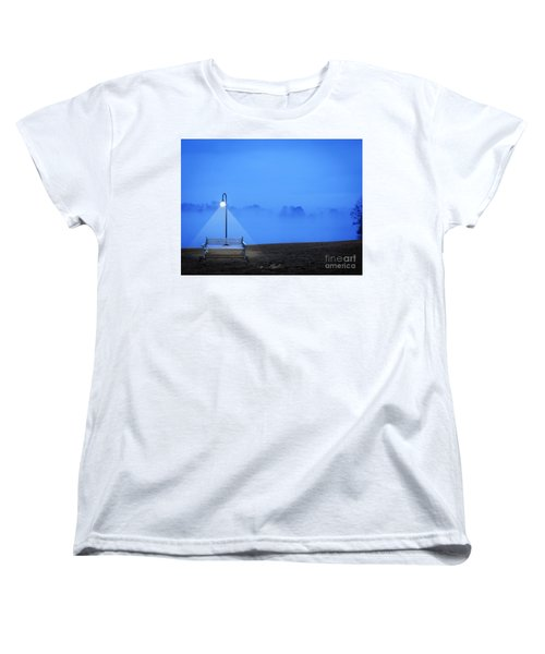 Alone Women's T-Shirt (Standard Cut) by Melissa Messick