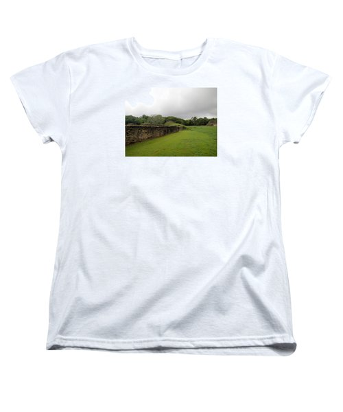 Women's T-Shirt (Standard Cut) featuring the photograph Altun Ha #1 by Lois Lepisto