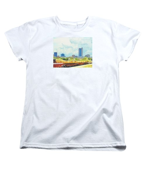 Amarillo Texas In The Spring Women's T-Shirt (Standard Cut) by Janette Boyd