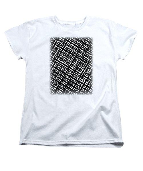Women's T-Shirt (Standard Cut) featuring the digital art Ambient 35 by Bruce Stanfield