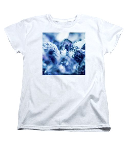 Women's T-Shirt (Standard Cut) featuring the photograph Amethyst Blue by Sharon Mau