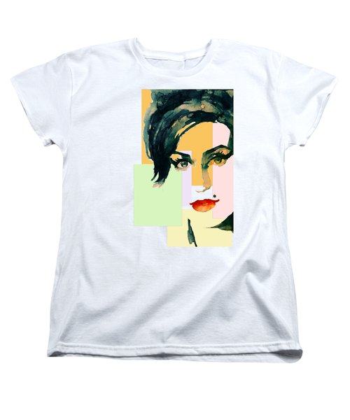 Amy... Love Women's T-Shirt (Standard Cut) by Laur Iduc
