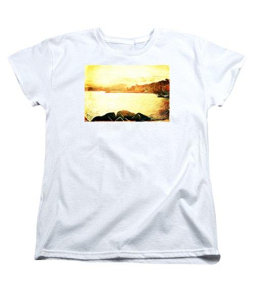 Ancient Marina Women's T-Shirt (Standard Cut) by Andrea Barbieri