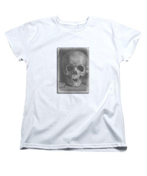 Ancient Skull Tee Women's T-Shirt (Standard Cut) by Edward Fielding