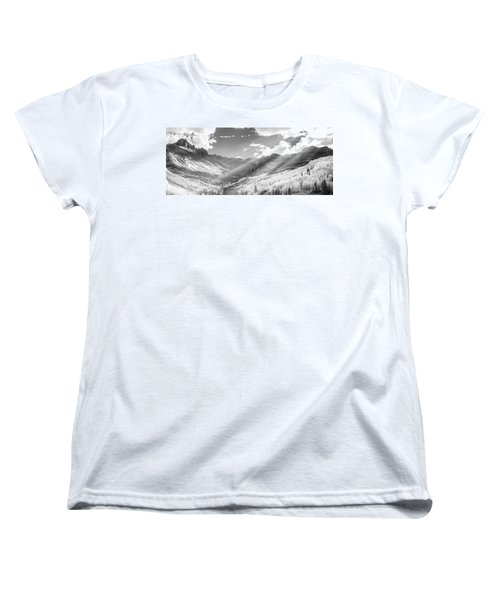 Women's T-Shirt (Standard Cut) featuring the photograph And You Feel The Scene by Jon Glaser