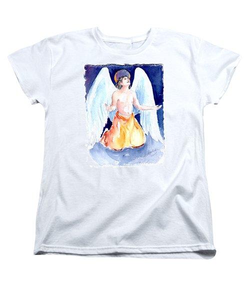 Angel Of Gratitude Women's T-Shirt (Standard Cut)