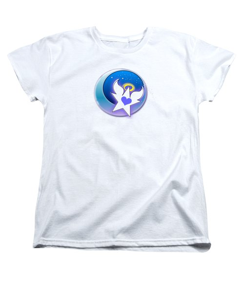 Angel Star Icon Women's T-Shirt (Standard Cut) by Shelley Overton
